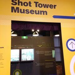 Photo taken at Shot Tower Museum by Anita on 1/27/2015