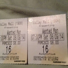 Photo taken at Regal Cinemas Valley Mall 16 by Patrick R. on 8/10/2014