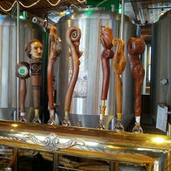 Photo taken at Bullfrog Brewery by Bobby S. on 4/2/2013