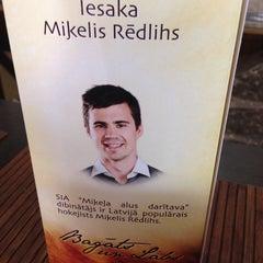 """Photo taken at """"Miestiņš"""", alus veikals by Rolands K. on 7/19/2014"""