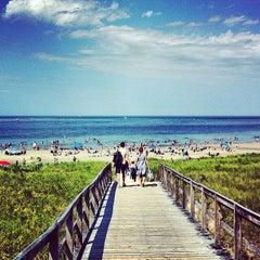 Photo taken at Crane Beach by Kobi M. on 7/21/2013