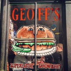 Photo taken at Geoff's Superlative Sandwiches by Jessica Y. on 11/10/2012