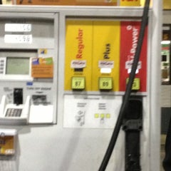 Photo taken at Shell by jc T. on 10/20/2012
