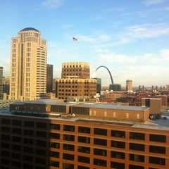 Photo taken at Sheraton St. Louis City Center Hotel & Suites by Kenny B. on 10/27/2012