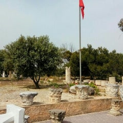 Photo taken at Carthage National Museum I Le musée national de Carthage I المتحف الوطني بقرطاج by Олег Г. on 5/15/2015