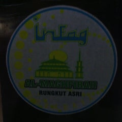 Photo taken at Masjid Al-Maghfirah by Arief D. on 7/27/2013