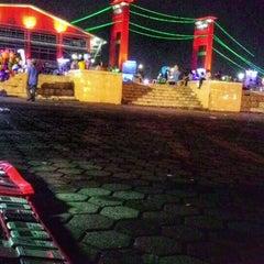 Photo taken at Benteng Kuto Besak by BG 26 J. on 12/23/2015