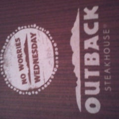 Photo taken at Outback Steakhouse by Candy D. on 8/2/2013