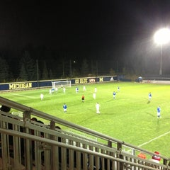 Photo taken at U-M Soccer Complex by Yvo M. on 10/30/2012