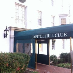 Photo taken at Capitol Hill Club by Armie on 12/11/2012