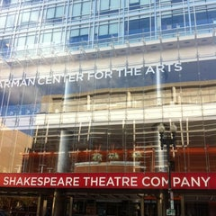 Photo taken at Shakespeare Theatre Company - Harman Hall by Armie on 10/16/2012