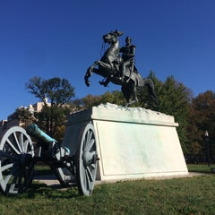 Photo taken at Andrew Jackson Statue by Armie on 11/3/2015