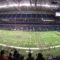 Photo taken at Alamodome by Jesse T. on 10/27/2012