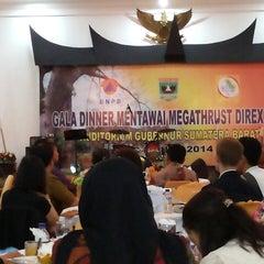 Photo taken at Kantor Gubernur Sumatera Barat by Punya R. on 3/22/2014