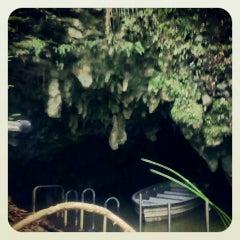 Photo taken at Waitomo Glowworm Caves by Anatoly G. on 5/8/2013