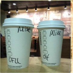 Photo taken at Starbucks by Michael F. on 2/14/2014