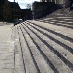 Photo taken at Parkinson Steps by Patrick O. on 3/29/2013