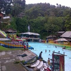 Photo taken at Wisata air terjun curug luhur (bogor) by Kris M. on 11/11/2012