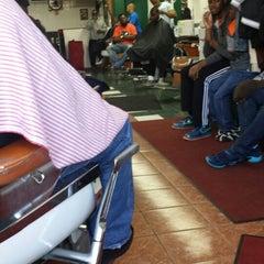 Photo taken at Callis & Callis Barber Shop by Calvin C. on 4/5/2014