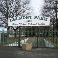 Photo taken at Belmont Park Racetrack by Amy L. on 2/24/2013