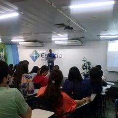 Photo taken at Universidade Estácio de Sá by Lucas R. on 9/11/2013
