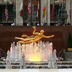 Photo taken at Rockefeller Center by Bastián C. on 6/26/2013