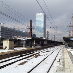 Photo taken at Gare de Bruxelles-Midi / Station Brussel-Zuid by Timothy J. on 3/13/2013