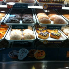 Photo taken at Krispy Kreme by Pilar I. on 10/17/2012