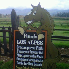 Photo taken at Fundo Los Alpes by Jorge F. on 1/17/2013