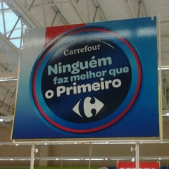 Photo taken at Carrefour by Sérgio W. on 7/28/2013