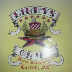 Photo taken at Lindy's on 4th by Frankie F. on 1/6/2013