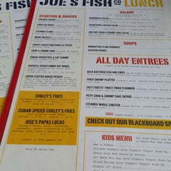 Photo taken at Joe's Fish Co. by Maria C. on 6/14/2014