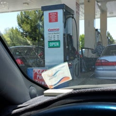 Photo taken at Costco Gas Station by Nanc D. on 6/19/2014