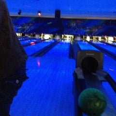 Photo taken at Brunswick Zone - Lowell by Stacey A. on 2/2/2013
