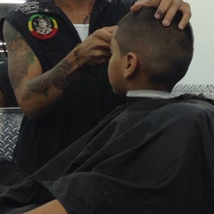 Photo taken at Chop Shop Barbershop, Miami by Xiomara G. on 10/6/2013