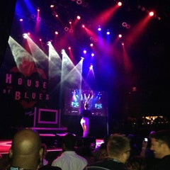 Photo taken at House Of Blues by Kyle C. on 8/14/2013