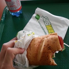 Photo taken at Subway by Daniel G. on 9/29/2014