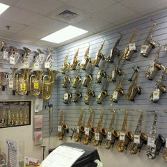 Photo taken at Sam Ash Music Stores by Robert P. on 4/9/2012