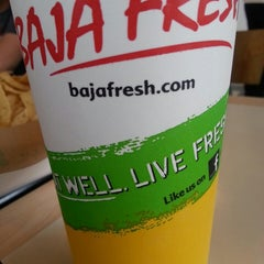 Photo taken at Baja Fresh Mexican Grill by Mike S. on 1/26/2014