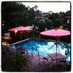 Photo taken at Rainforest Boutique Hotel Chiang Mai by Amy H. on 2/3/2013