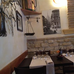 "Photo taken at Hosteria Tipica Milanese ""La Cadrega"" by Albina T. on 11/2/2013"