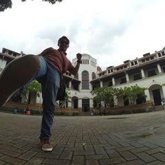 Photo taken at Lawang Sewu by rian t. on 2/8/2016