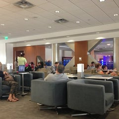 Photo taken at Delta Sky Club by Gene on 7/14/2013