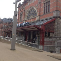 Photo taken at Station Groningen by Ton J. on 5/19/2013
