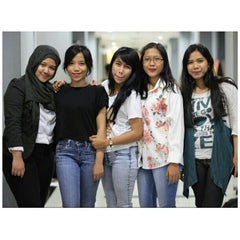 Photo taken at Universitas Persada Indonesia Y.A.I by Arghy R. on 10/2/2014