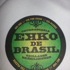 Photo taken at Ekko De Brazil by Shayna H. on 8/22/2013