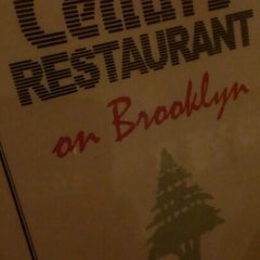 Photo taken at Cedars Restaurant by Michael W. on 12/2/2012
