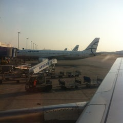 Photo taken at Gate B03 by Miguel L. on 8/25/2013