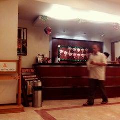 Photo taken at Abadi Hotel Jogja by Navan M. on 12/26/2013