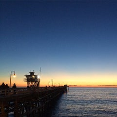 Photo taken at Metrolink San Clemente Pier Station by will k. on 12/30/2014